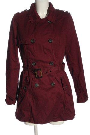 Tally Weijl Abrigo de entretiempo rojo look casual
