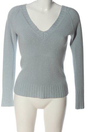 Tally Weijl V-Ausschnitt-Pullover blau Casual-Look