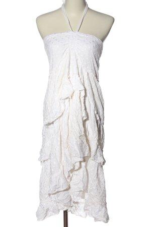 Tally Weijl Volantkleid weiß Elegant