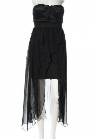 Tally Weijl Volantkleid schwarz Elegant