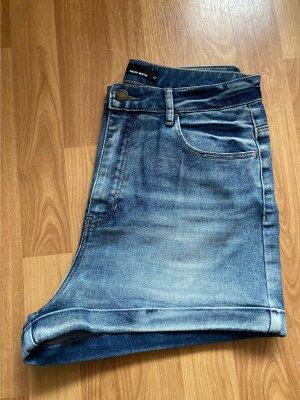 Tally Weijl Pantalon taille haute bleu azur