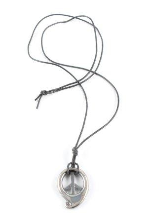 TAMARA COMOLLI Halskette silberfarben Glanz-Optik
