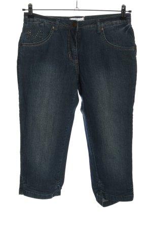 Tamaris Pantalone a 3/4 blu stile casual