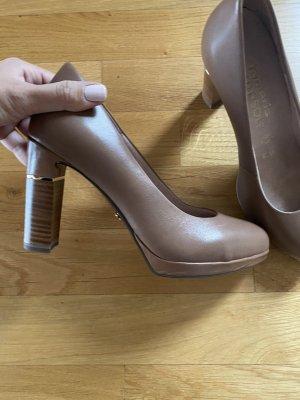Tamaris 38 Schuhe heels braun nude
