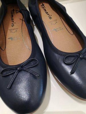 Tamaris Ballerina pieghevole blu scuro