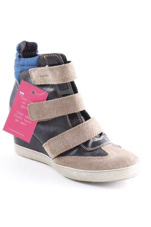 Tamaris Absatz Sneaker mehrfarbig Street-Fashion-Look