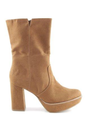 Tamaris Absatz Stiefel nude klassischer Stil