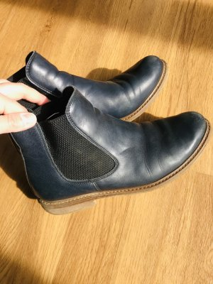 Tamaris Ancle Boots in Navy