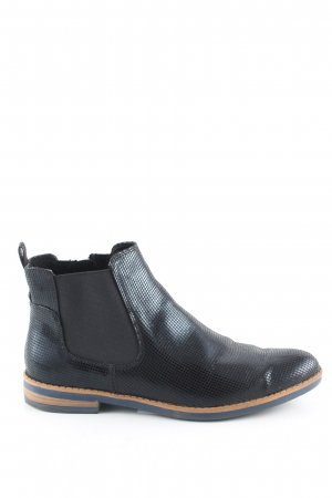 Tamaris Ankle Boots Karomuster Business-Look