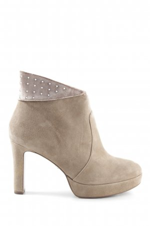 Tamaris Ankle Boots braun Casual-Look