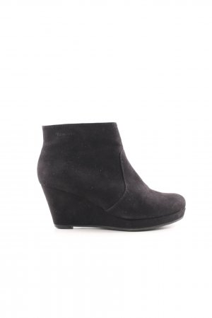 Tamaris Ankle Boots schwarz Casual-Look