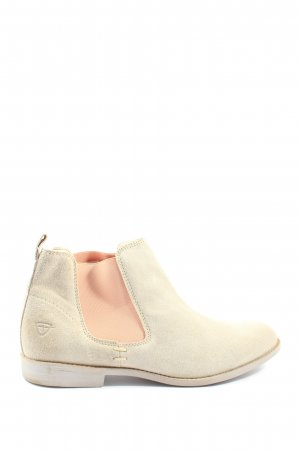 Tamaris Ankle Boots creme Casual-Look