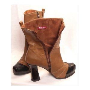 Tamaris Ankle Boots Leder Gr. 39 - Neuwertig
