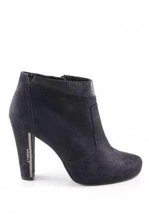 Tamaris Ankle Boots schwarz Business-Look