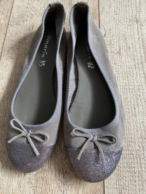 Tamaris Bailarinas con tacón Mary Jane gris