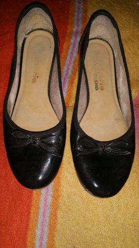 Tamaris Ballerinas Gr 38 Lack schwarz