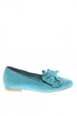 Tamaris Ballerinas mit Spitze blau Casual-Look