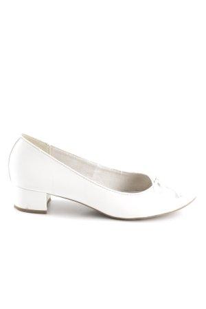 Tamaris Ballerinas mit Spitze weiß Elegant