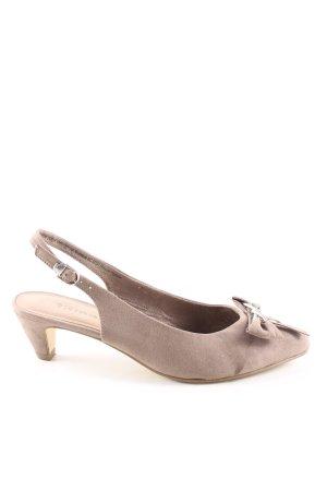 Tamaris Ballerina's met kant bruin elegant