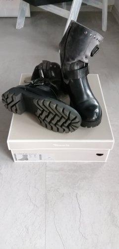 Tamaris Bottillons noir-gris