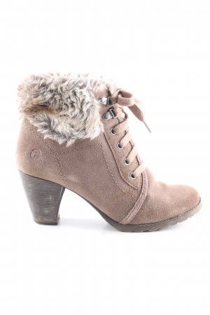 Tamaris Booties wollweiß Casual-Look