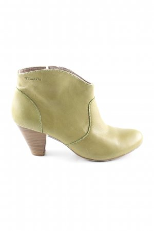 Tamaris Booties grün Casual-Look