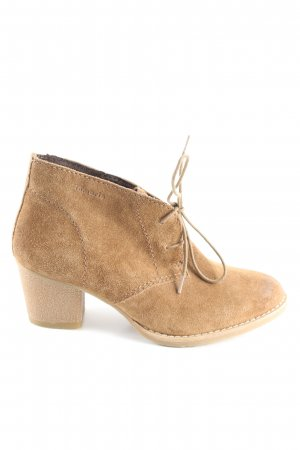 Tamaris Booties braun Casual-Look