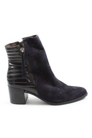 Tamaris Bottillons violet-noir style décontracté