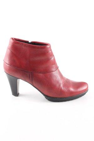 Tamaris Booties red-black casual look