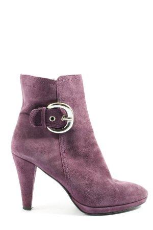Tamaris Booties pink Business-Look