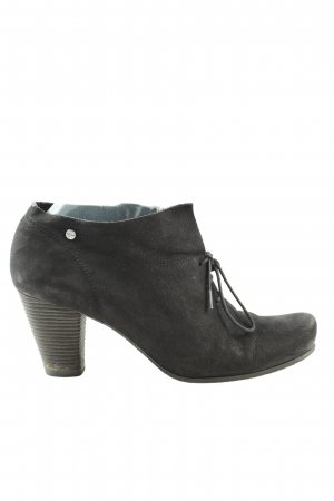 Tamaris Booties schwarz Business-Look