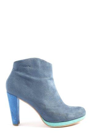 Tamaris Booties blau Casual-Look