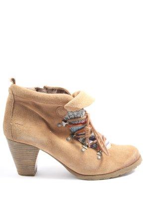 Tamaris Booties braun Casual-Look