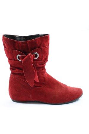 Tamaris Booties rot extravaganter Stil