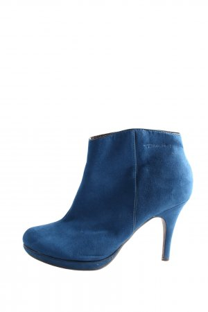 Tamaris Booties blau Business-Look