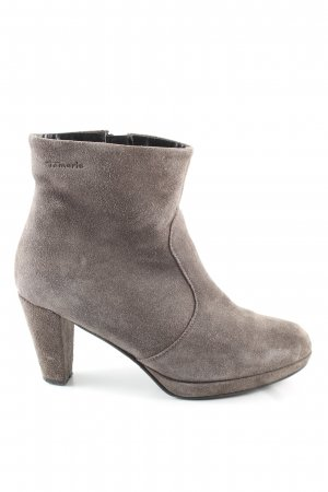 Tamaris Booties hellgrau Casual-Look