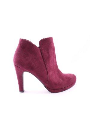 Tamaris Booties pink Elegant
