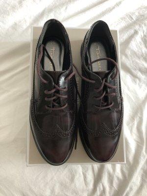 Tamaris Zapatos Budapest rojo zarzamora