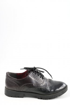 Tamaris Zapatos Budapest rojo-negro look casual