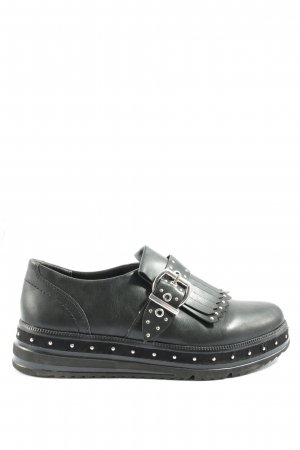 Tamaris Cap Toes zwart zakelijke stijl