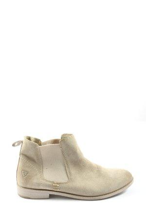 Tamaris Sztyblety w kolorze białej wełny W stylu casual
