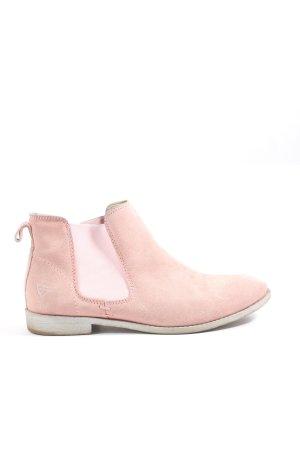 Tamaris Sztyblety różowy W stylu casual
