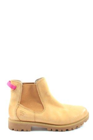 Tamaris Chelsea Boots hellorange Casual-Look