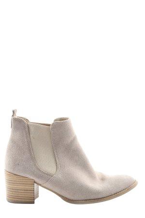 Tamaris Chelsea Boots wollweiß Casual-Look