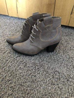 Tamaris Stivaletto western marrone-grigio