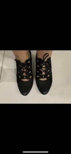 Tamaris Tacones con cordones negro