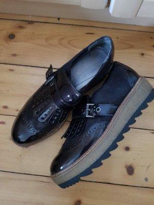 Tamaris Zapatillas con tacón negro