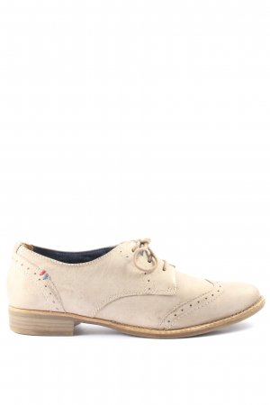 Tamaris Derby natural white casual look