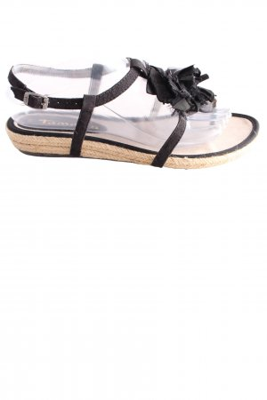 Tamaris Dianette sandalen zwart casual uitstraling