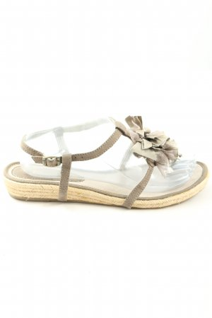 Tamaris Dianette Sandals light grey casual look